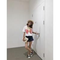 Baju Wanita Color Pink Sweet Sailor Manis/Import/Bermerk 25046
