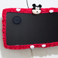 Jual Cover TV Minnie ukuran L (42