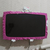 Jual cover tv hello kitty ukuran S (Maksimal 22