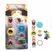Jual jam tangan mainan anak ninjago robot lego murah meriah multifungsi 3 Murah