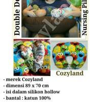 Bantal menyusui Kembar Double deluxe nursing pillow Cozyland