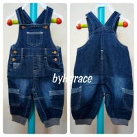 Baby PEP Overall jeans kantong. Overall jeans anak