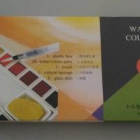 Maries Water Colour Brush Isi 18warna