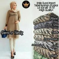 gucci tunic rajut import ori / supplier gamis