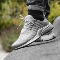 Nike Air Presto Woven SE Grey Sneakers Pria Sepatu Jalan PREMIUM