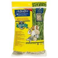 Alfalfa King Alfalfa Hay 16oz Real Pack Kemasan Asli Rumput Kering