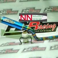 KNALPOT RACING FDR RACING FOR KONTES UNTUK ALL MOTOR Matic / Bebek