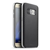 100% ORIGINAL Case IPAKY Samsung S7 Flat Carbon + Bumper Neo H 0802