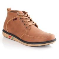 sepatu boots pria Coklat TheBlackely Brown MSA-575 Cibaduyut Kulit
