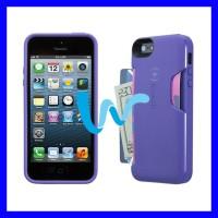 SPECK (ORIGINAL) - iPHONE 5/5S - SMARTFLEX CARD (PURPLE)