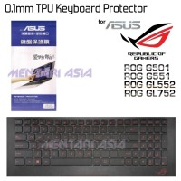 TPU Keyboard Protector for ASUS ROG G501 G551 GL552