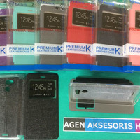 Flipcover Infinix Hot 4 Lite X557 5.5 inchi Sarung Buku Flip Case HP