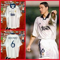 Jual Jersey Real Madrid Home 1998/2000 #6 REDONDO Murah
