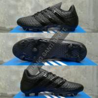 Jual Sepatu bola / soccer Adidas ACE 16 full black (bukan messi, X, copa) Murah