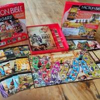 Permainan Aksi Rohani Seru The Action Bible Game Board