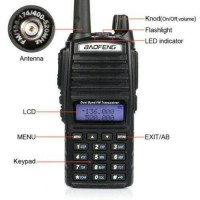 Radio Ht Handy Talky Baofeng Ub 82+ Hedset Original, UV-82, UV82