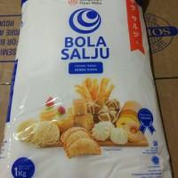 Terigu Bola Salju sekelas Segitiga Biru ( Protein Sedang) 1 kg GOJEK