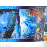 Epoch Jigsaw Puzzle - Shangri-la Moon Light by Lassen - 1000 Pcs