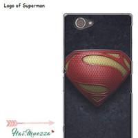 custom case / hardcase / sony xperia z1 compact / docomo superman logo