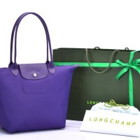 Tas Longchamp Planetes Neo Medium UNGU Premium P502