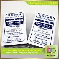 Kupon Depot Air Minum Isi Ulang / Refill Galon