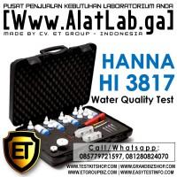 Tes Kit 6 Parameter Kualitas Air | Water Quality Test HANNA HI 3817