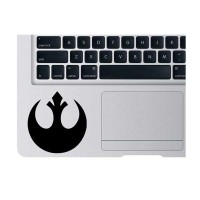 Sticker Star Wars Rebel Alliance Mousepad Macbook Pro Air - Rina Shop
