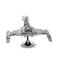 Mainan edukatif 3d Jigsaw puzzle metal STAR TREK - KINGLON VORCHA