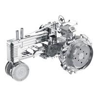 PUZZLE 3D metal TRACTOR