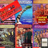 Ebook Buku Novel Animorphs Complete Set Bahasa Indonesia & Inggris