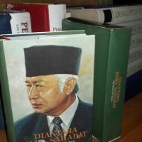 buku langkaDiantara para sahabat Pak harto 70 tahun