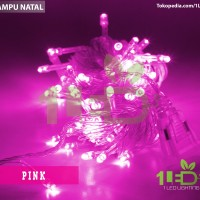 Jual Lampu Natal LED Pink Twinkle Light hias pohon Christmas Murah