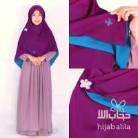 gamis syari wanita hijab alila perdana