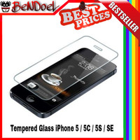 ... harga Tempered Glass Apple Iphone 5 / 5s | Anti Gores Kaca |screen Protector Tokopedia