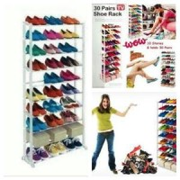 Rak Sepatu Amazing Shoe Rack muat 30 pasang as seen on Limited