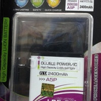 PROMO Baterai Log On Double Power EVERCOSS A5P Battery / Batre