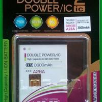 Promo ! Baterai Log On Double Power Evercross A28A Battery Batre