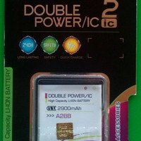 Promo ! Baterai Log On Double Power Evercross A28B Battery Batre