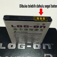 PROMO Baterai Log On Double Power Evercoss A5A Battery / Batre