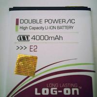 PROMO Baterai Log On Double Power Andromax E2 Battery / Batre