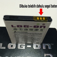 PROMO Baterai Log On Duble Power Mito A10 Battery Batre