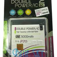 PROMO Baterai Log On Double Power Lenovo P70 Battery / Batre