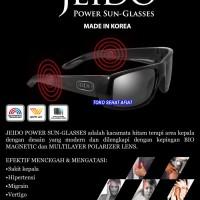 Jeido Power Sun-Glasses Kacamata Terapi Kesehatan Cegah Sakit Kepala
