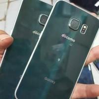Samsung S6 Edge 64gb Docomo seken mulus minus shadow Tipis