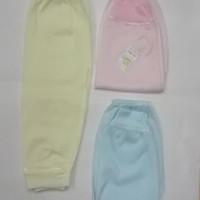 Celana Panjang Bayi New Born Kaki Buka Merk Conoco/ 3 Pcs