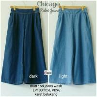 Jual chikago jeans cullote pants - celana murah - jogger - bawahan wanita Murah