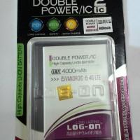 Baterai Log On Double Power Advan I5 - 4000mAh Battery / Batre