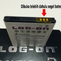 Baterai Log On Duble Power Mito A10 Battery Batre