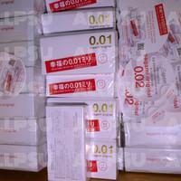 Sagami Original 0.01 Pack 5 pcs ( Standart ) Limited Condoms Kondom