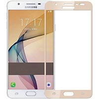 Samsung Galaxy J7 Prime Full Cover Tempered Glass Colour / GOLD